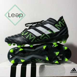 Sepatu Bola Adidas Nemeziz 17.1 Black Green