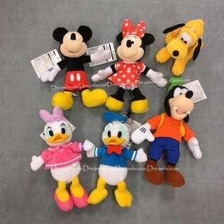 東京迪士尼 米奇 米妮 唐老鴨 黛西 高飛 布魯托 經典款 基本款 別針 珠鍊 吊飾娃娃