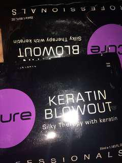 Icure keratin blowout