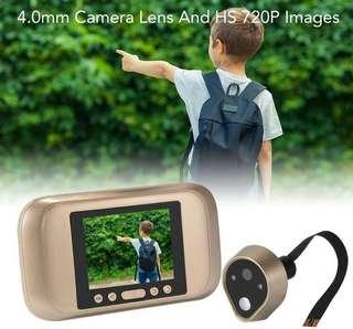 digital peephole with doorbell