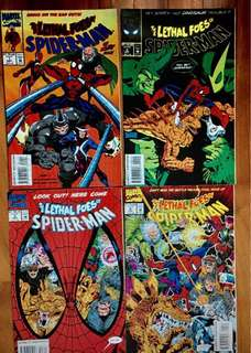 Spider man plus captain America  - 8 books for $15