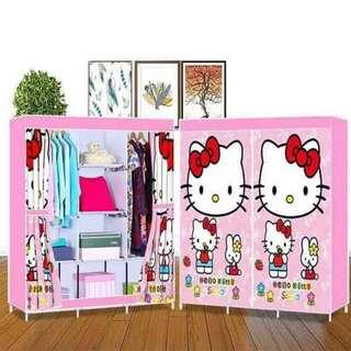 Hello Kitty Wardrobe Storage Closet