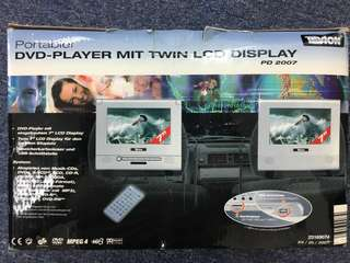 Portables DVD Player With Twin Display