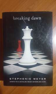 BREAKING DAWN (HARDBOUND COPY) by Stephenie Meyer