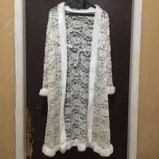 Outer lingerie white