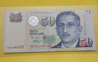 Sg $50 5AA