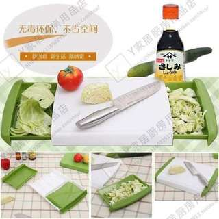 Chopping Board with Container