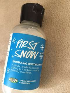 Lush - First Snow (Sparkling Dusting Powder)