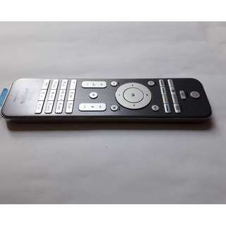 Philips LCD TV Remote Control (RC448) with metal chrome hairline AL housing