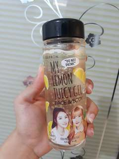 Celebon my lemon juice gel