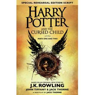 Harry Potter And Cursed Child by J. K. Rowling (EBook Fantasy Novel)