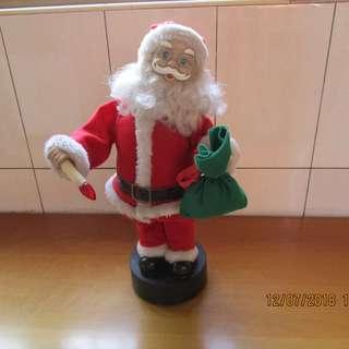 音樂 聖誕老人 (泛黃.老舊)