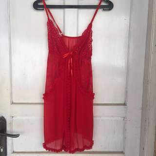 Outer lingerie red