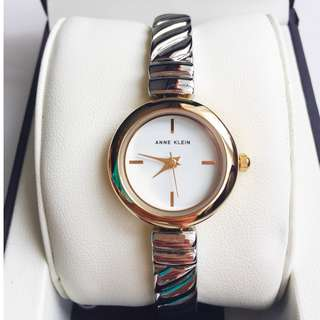 Anne Klein Silver Watch
