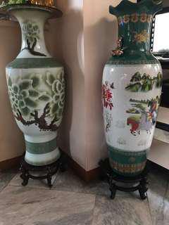 Jade Color Jar