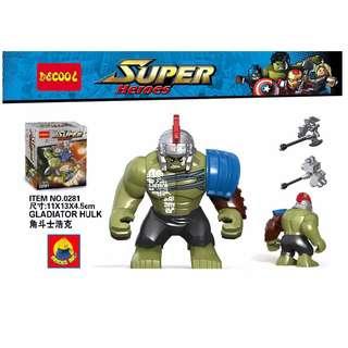 DECOOL™ 0281 Super Heroes Hulk Ragnarok Maxifigures