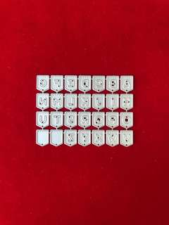 Alphabet #5 banner scrapbook Cutting dies