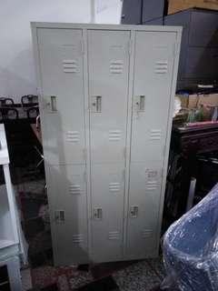 🚚 六格內物櫃 置物櫃 鐵櫃(附鑰匙)