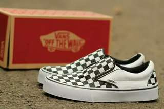 Sepatu Vans Oldskool Authentic Checkerboard