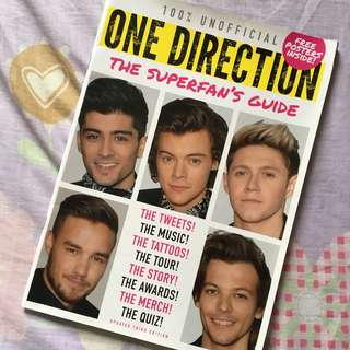 One Direction The Superfan's Guide Magazine