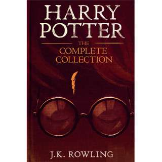 Harry Potter Complete Collection Book 1-7 (Pottermore) by J. K. Rowling (EBook Fantasy Novel)