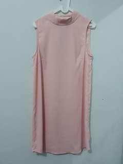 H&M pink soft pink dress