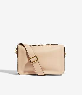 英國代購減價Karen Millen Compartment Leather Bag