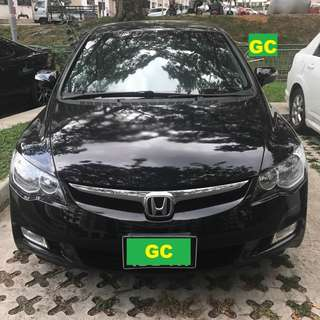 Honda Civic RENT CHEAPEST RENTAL GRAB/RYDEX