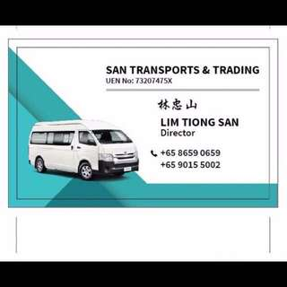 SAN TRANSPORT AND TRADING
