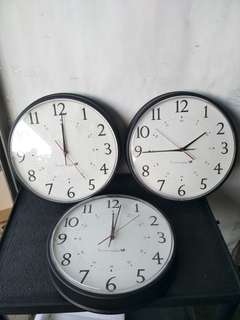 Used Wall Clock for sale @$10 Each @ C3/2