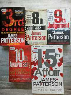 Women's Murder Club Series by James Patterson