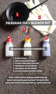 Pravana Full Bleach Kit