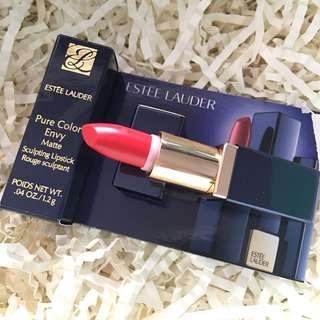 🚚 Estée Lauder Pure Color Envy Matte Sculpting Lipstick, 1.2g