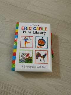 Preloved Eric Carle mini library