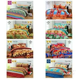 Sale! Bedcover set queen size