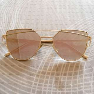 Rose Gold Sunnies