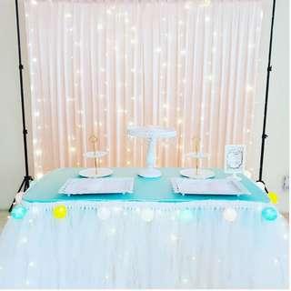 Dessert Table Setup_Birthday / ROM / Wedding