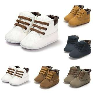 Baby boots baby shoes