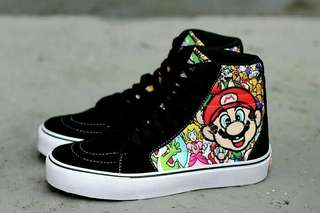 Sepatu Vans Oldskool Authentic Mario High