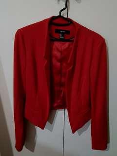 Forever21 Red Blazer