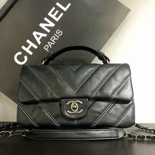 Chanel Coco Handle Black Color