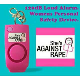 She's against rape Whistle