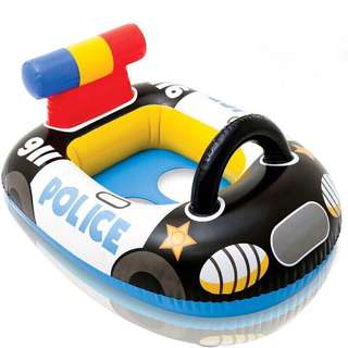 Baby Police Car Float