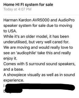 $300 Harmon Kardon Home HiFi system