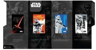 Star Wars Limited Edition Ezlink Card