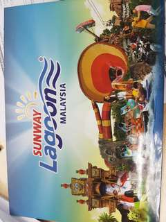 2 sunway lagoon ticket for sale urgent valid until 14 july this saturday