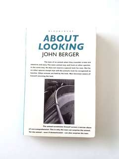 JOHN BERGER'S ABOUT LOOKING