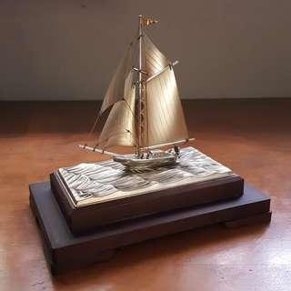 960 Sterling Silver Yatch by Seki