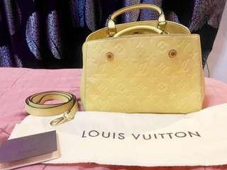 Rush! Selling Low! Authentic Louis Vuitton Montaigne Empreinte BB