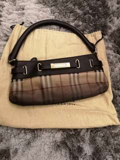 Burberry top handle